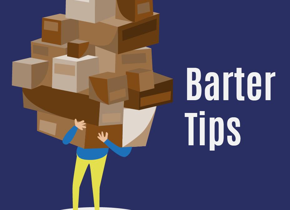 Barter Tips